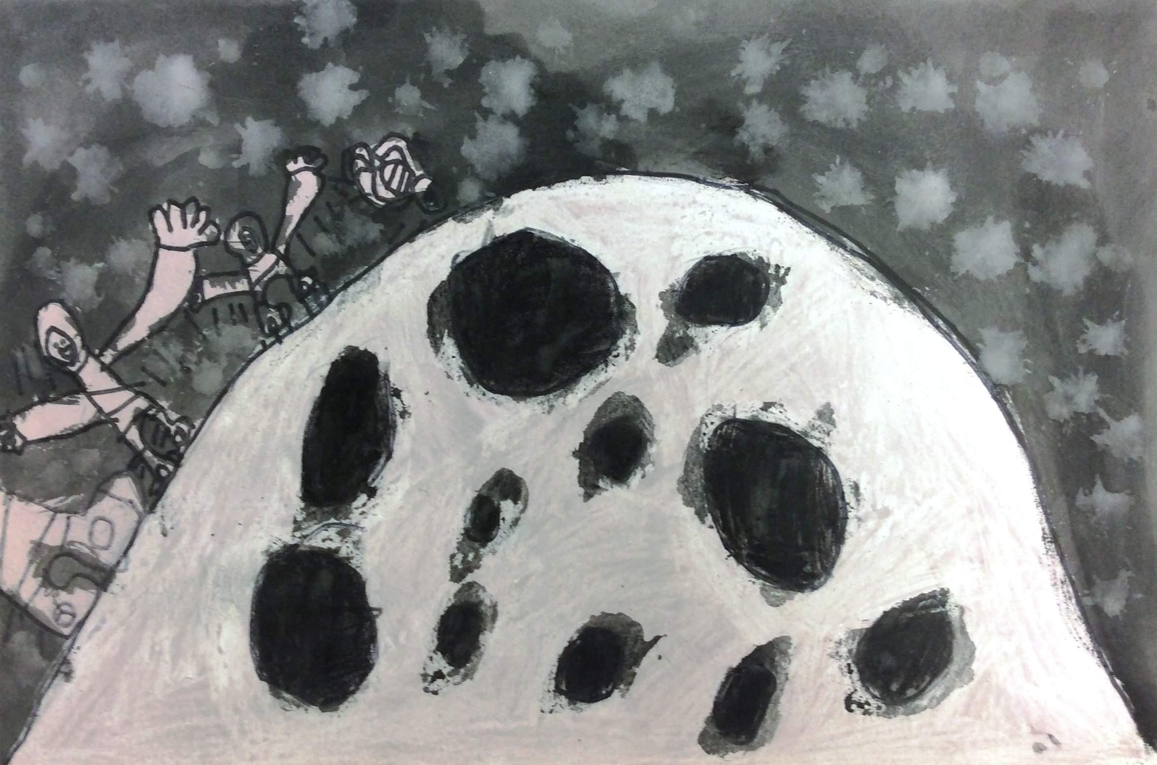 "Robert ""R.J. Key -- ""First Man on the Moon"""