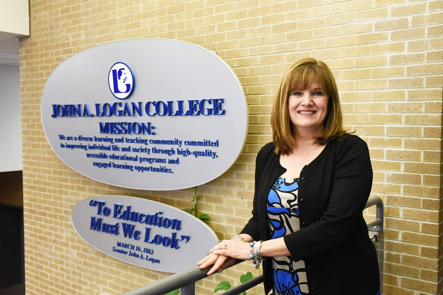 Lisa Hudgens, director of Career Services at John A. Logan College, says this year's job fair at John A. Logan College is the largest in its 22-year history.