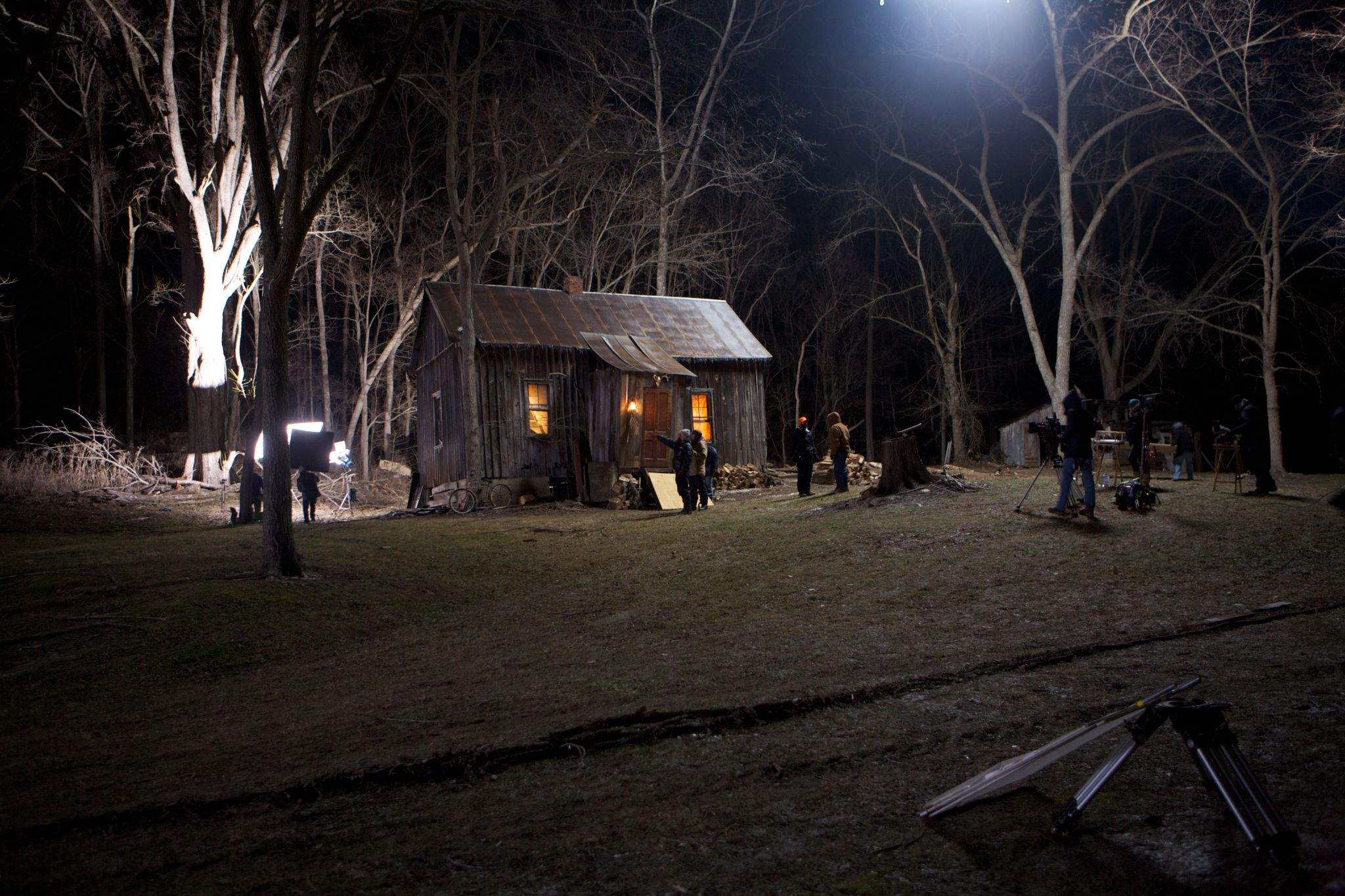 A hunting cabin in Alto Pass is turned into the Buchta House in the movie.