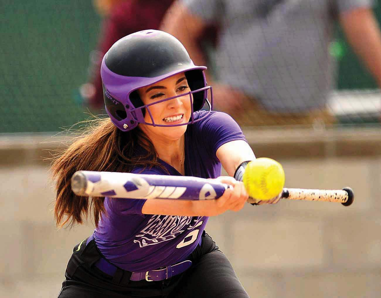 Madeline Rider was 1-for-4 in Harrisburg's 9-8 loss to Massac County to open up SIRR Ohio play Tuesday.