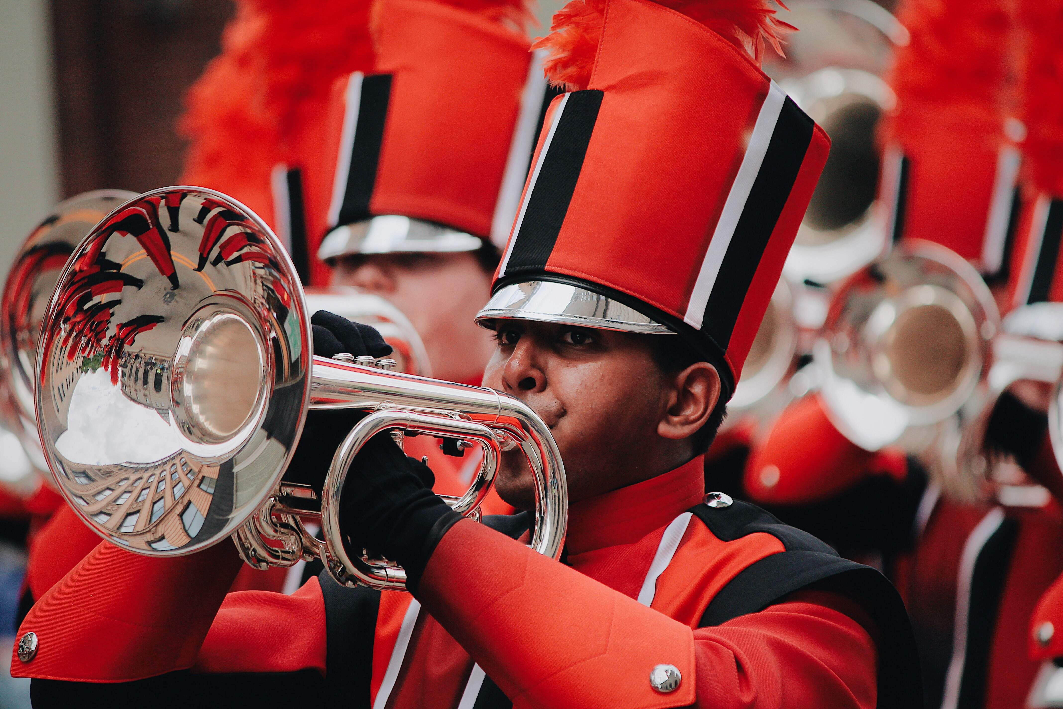 Caleb Gomes of Du Quoin will tour this summer with the Colts Drum and Bugle Corps.