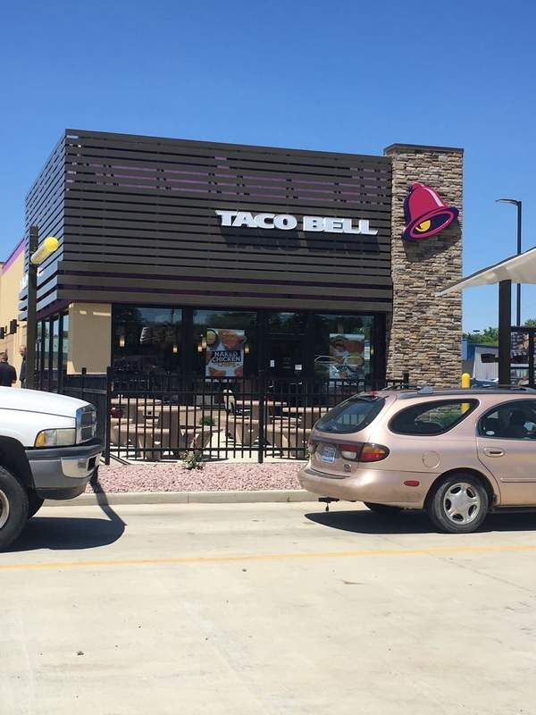 Taco Bell opened in Du Quoin last week, and according to company officials, the store has exceeded sales expectations. 'We're glad to be part of the community,' said Mike Gomas, director of operations for franchise owner Missouri Festa.