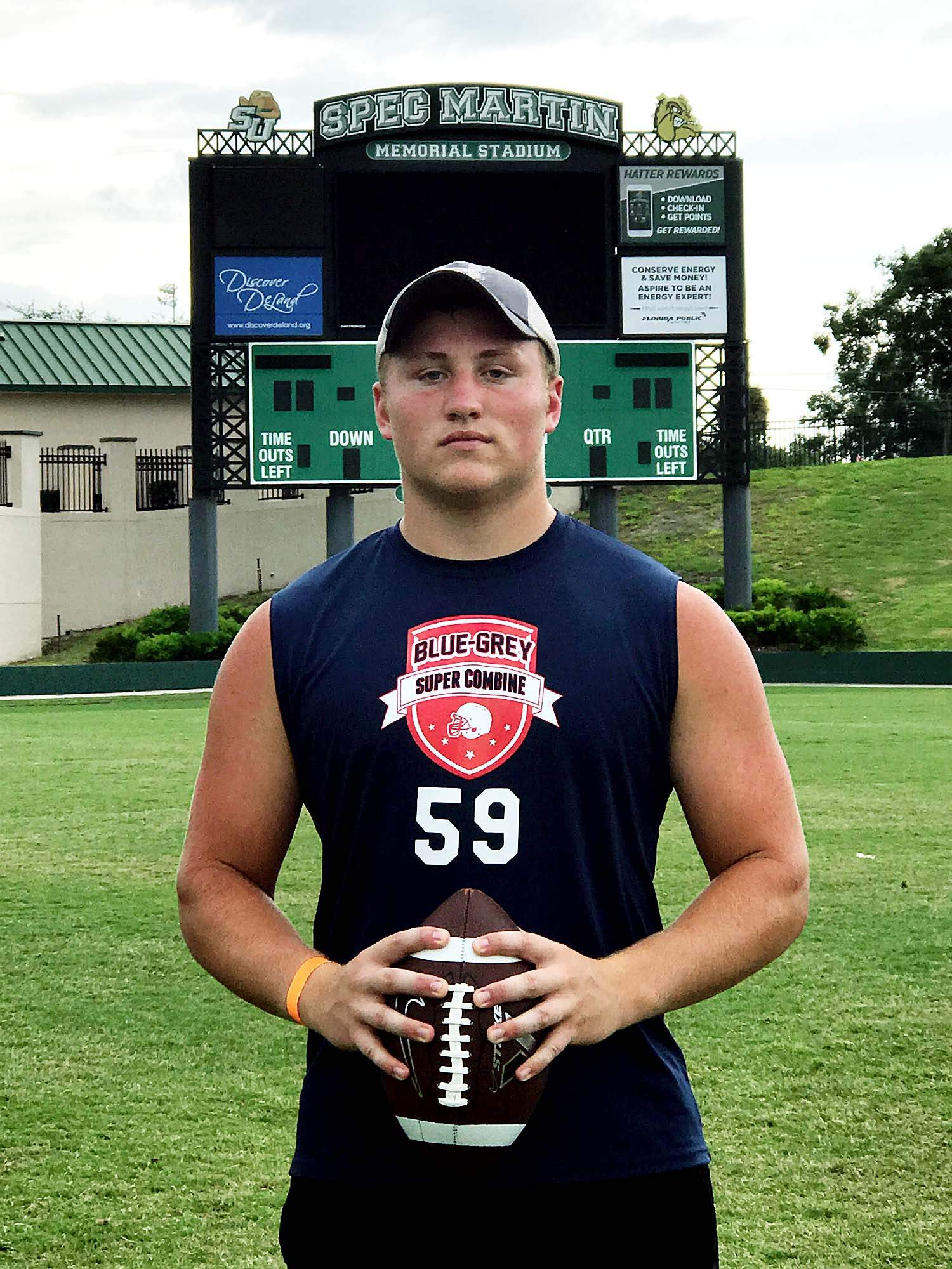Jordan Bartok, a senior at Harrisburg, recently took part in the Blue-Gray Combine in DeLand, Florida. Bartok participated in the Missouri Western State University Combine back in April. His stats there are what earned him an invite to Daytona.