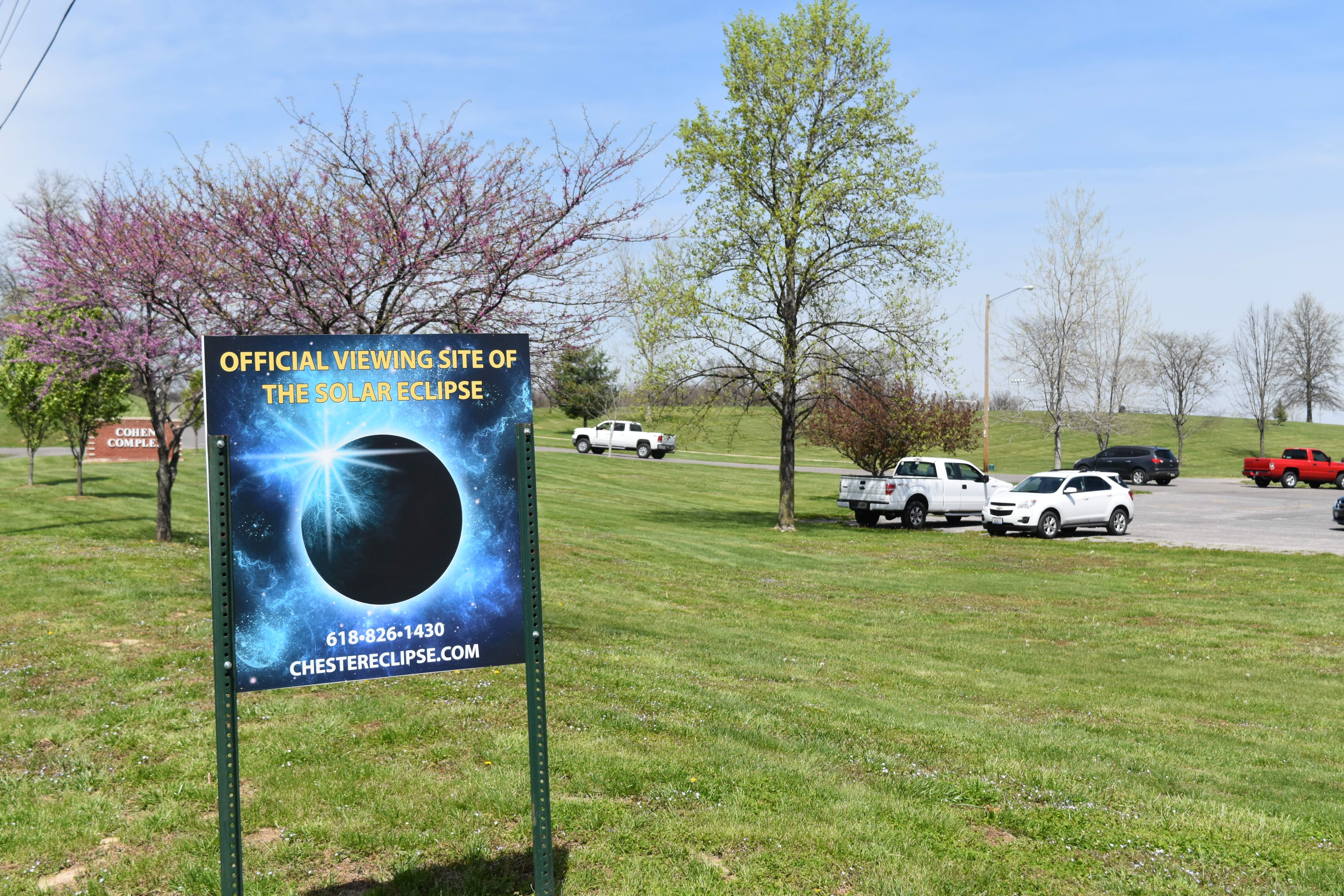 The Cohen Complex in Chester is one of the main viewing sites for Monday's solar eclipse.
