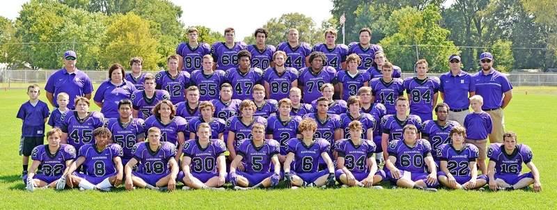 The 2017 Harrisburg High School Varsity Football Team
