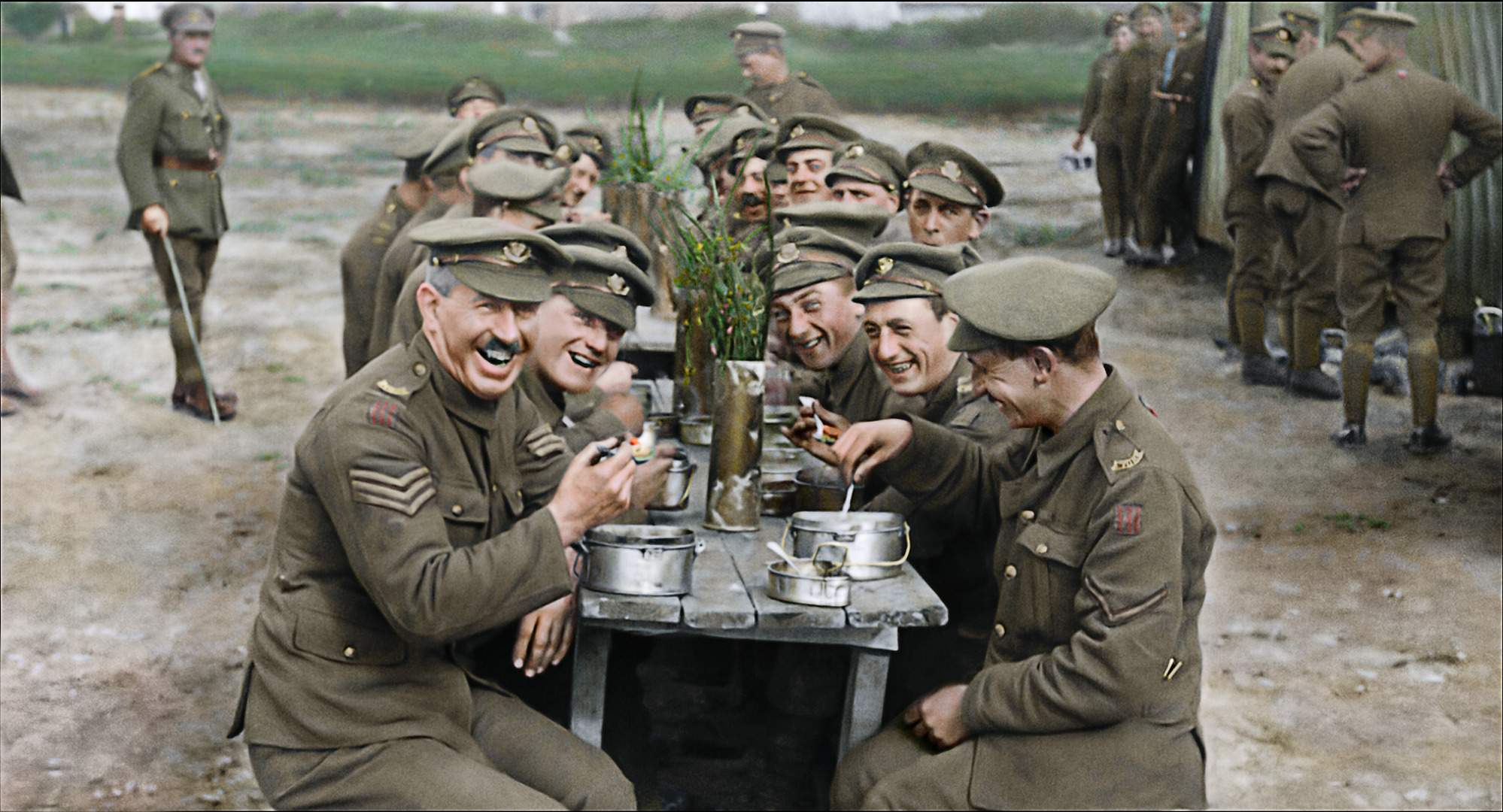 Peter Jackson's WWI documentary 'They Shall Not Grow Old' used 600 hours of interviews with 250 British soldiers.