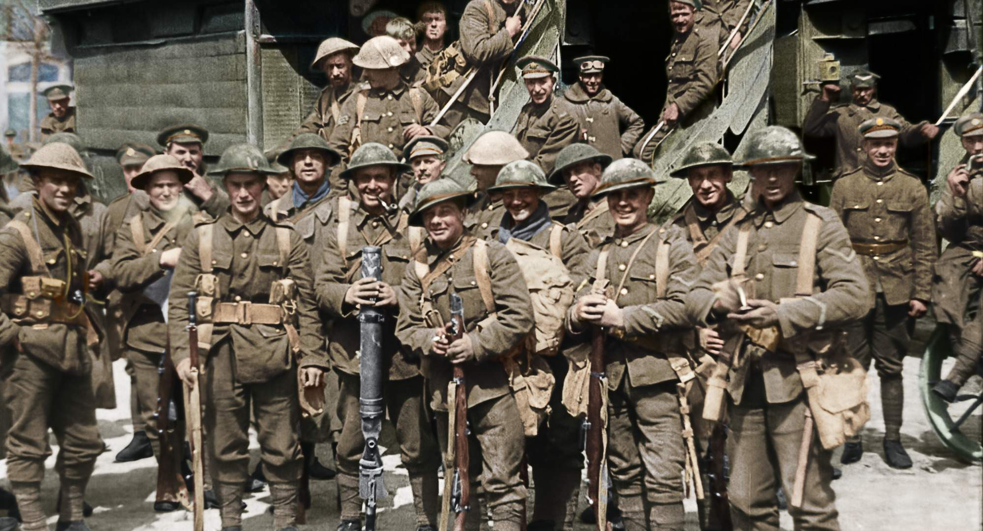 Peter Jackson's WWI documentary 'They Shall Not Grow Old' transferred old war footage into restored, colorized footage given a 3-D effect.