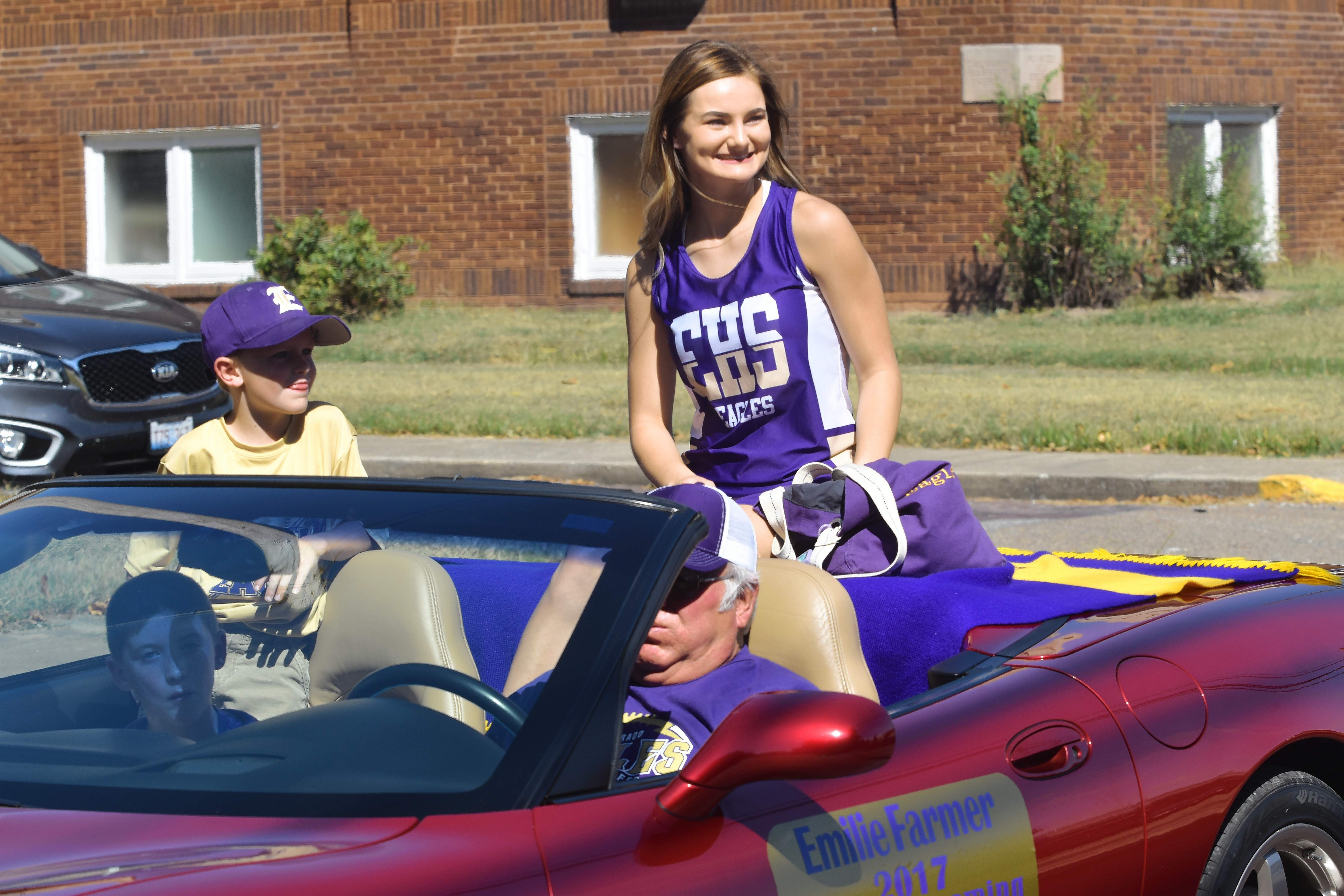 EHS Homecoming Queen candidate Emilie Farmer.