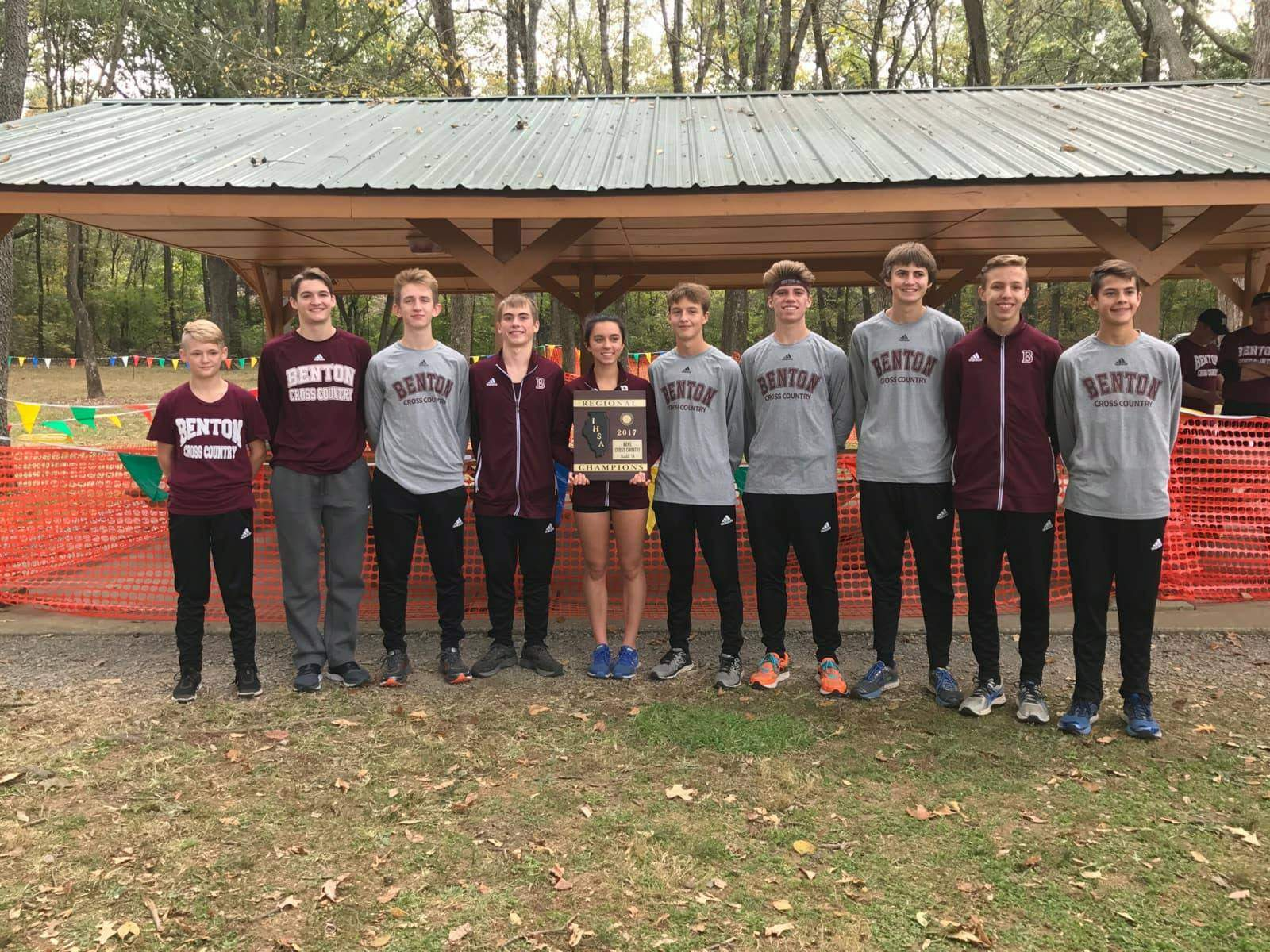 The Benton Rangers took home the hardware from their own IHSA Class 1A Regional on Saturday.