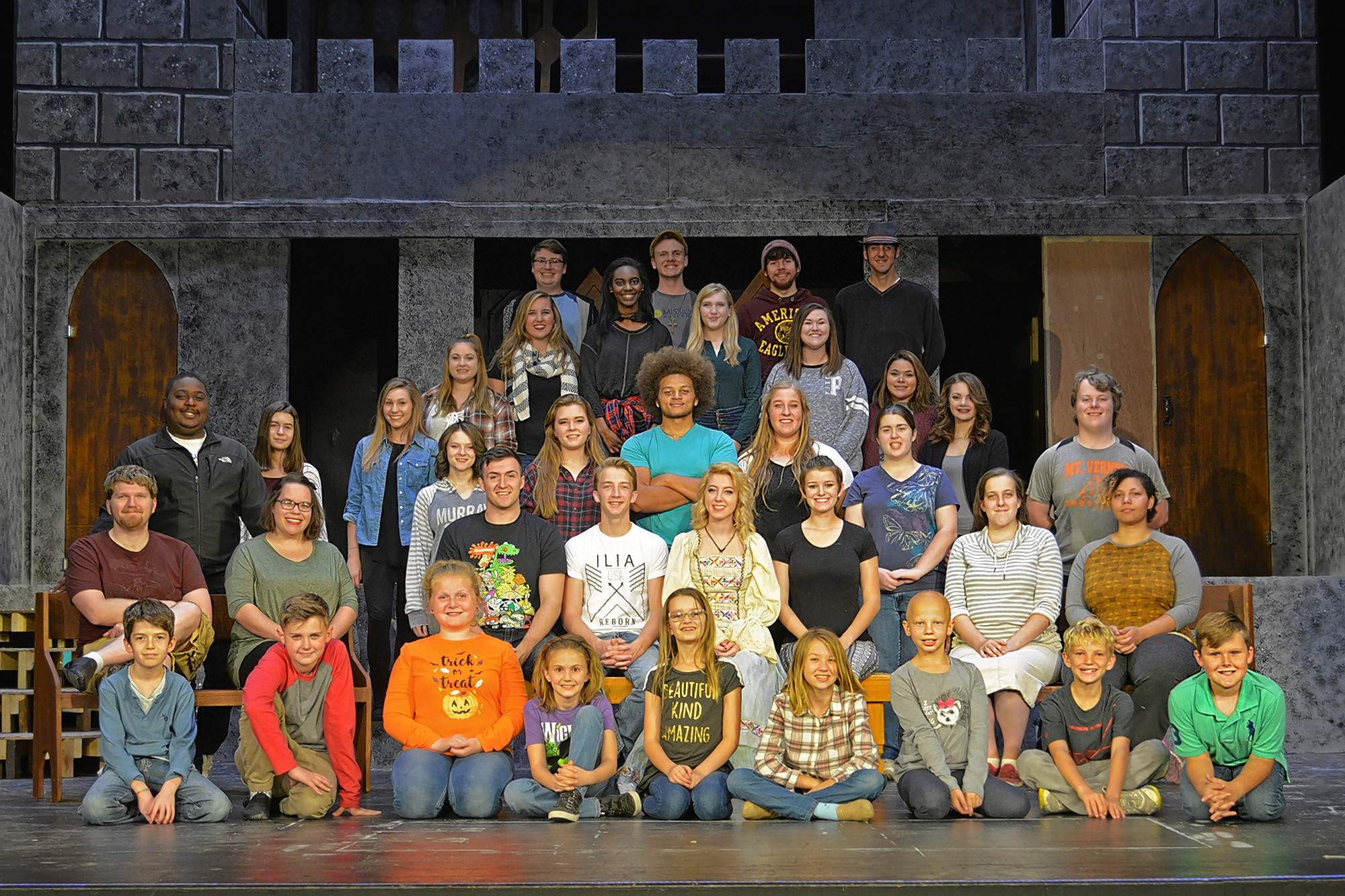 """The cast of """"The Sleeping Beauty of Loreland."""""""