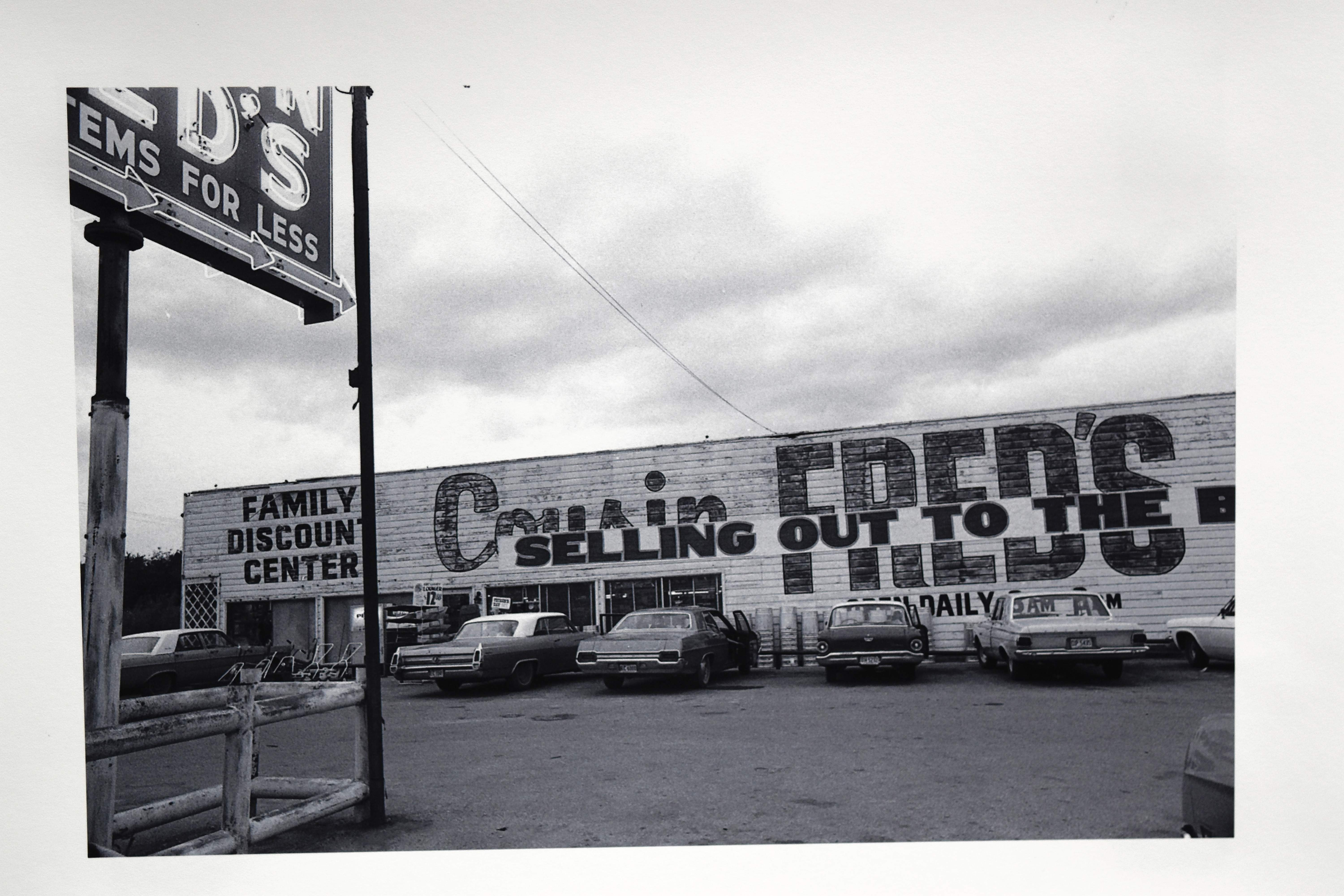 A photo of Cousin Fred's in Eldorado taken by Charles Hammond during the summer of 1971.