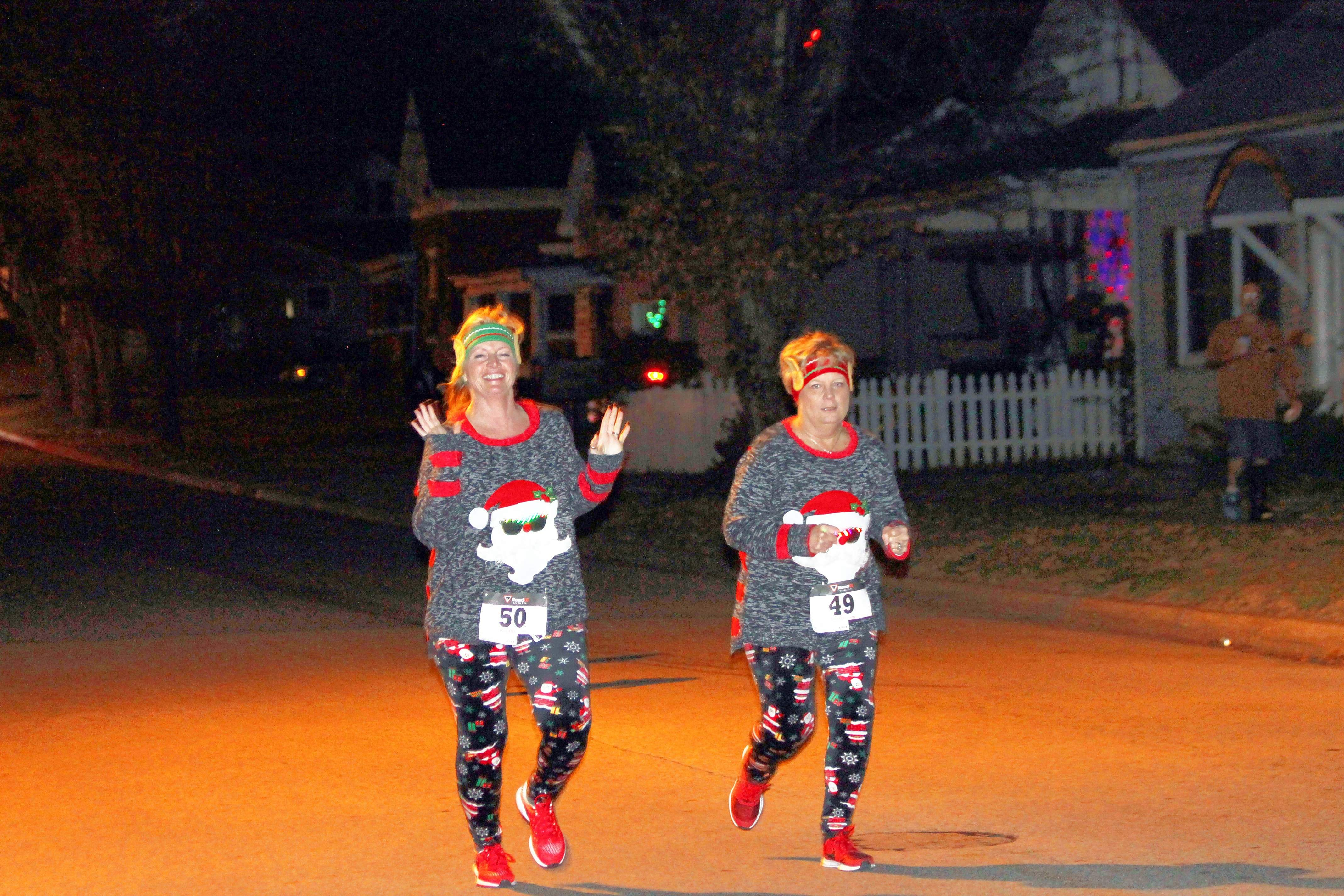 The Jingle Bell Fun Run/Santa Shuffle drew a total of 33 participants. Gilster-Mary Lee provided hot cocoa, brownies and cookies for participants.