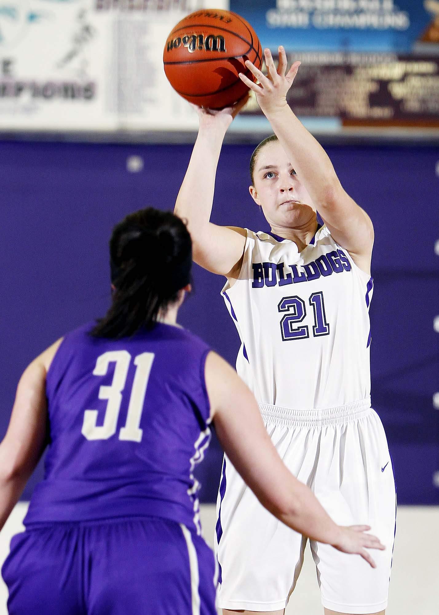 Jess Hopson and the Harrisburg High School girls' basketball team grabbed the top spot in the first Associated Press girls' basketball poll