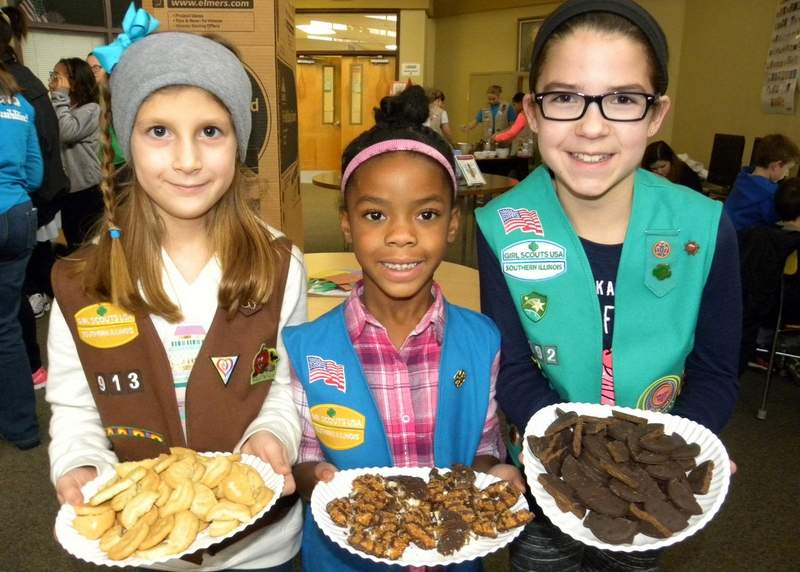 The Girl Scouts of Southern Illinois will kick off their annual Girl Scout Cookie Program on Saturday. Du Quoin locations will be Dollar Tree and Wal-mart on both Saturday and Sunday.