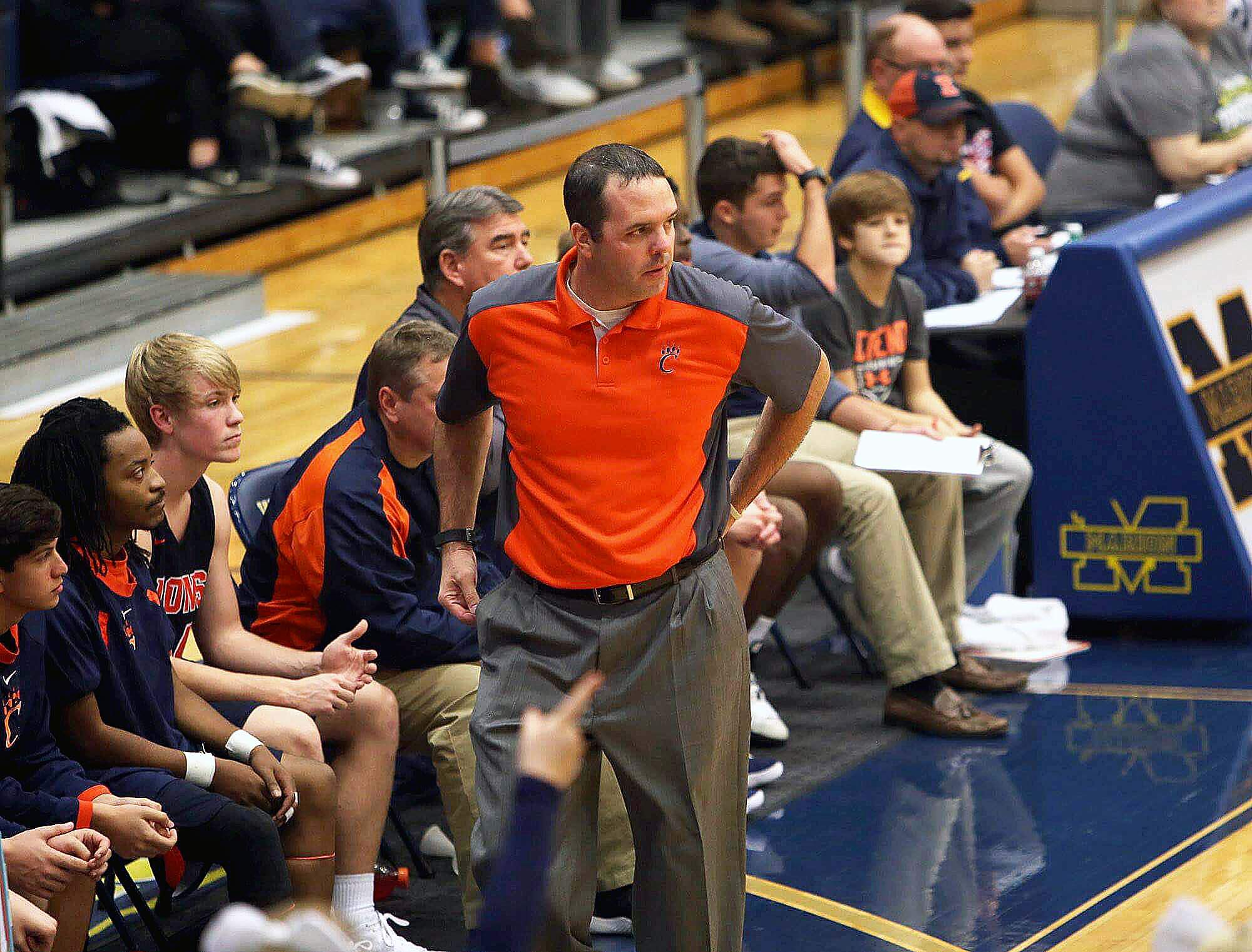 Carterville head coach and the Lions will be the newest member of the Eldorado Holiday Tournament this year, replacing Union County, Ky. The Braves were 9-13 in six seasons in the EHT.