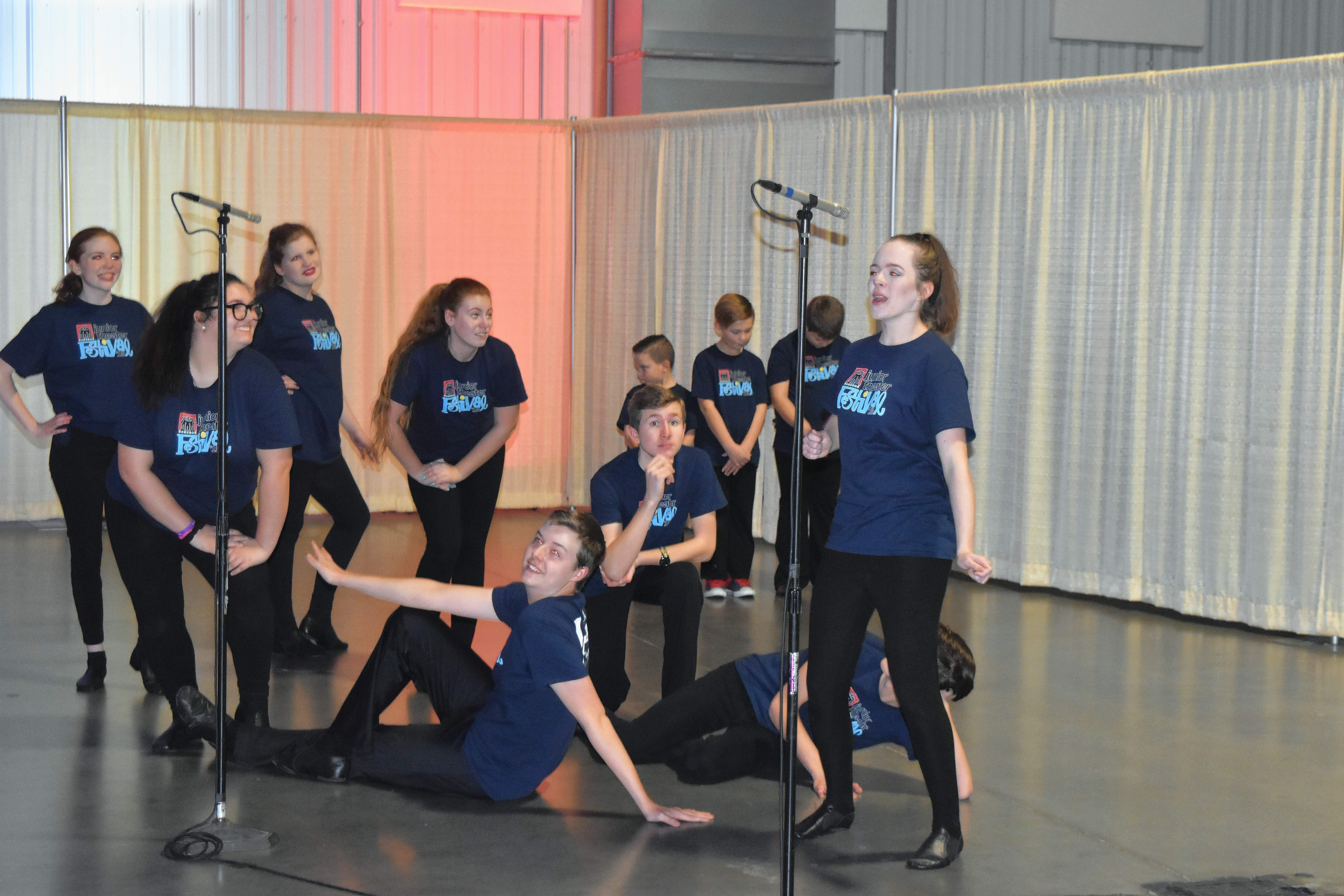 Artstarts, a local performing group, entertained the 500-plus in attendance Friday at the 97th annual Marion Chamber of Commerce Awards Banquet and Auction.
