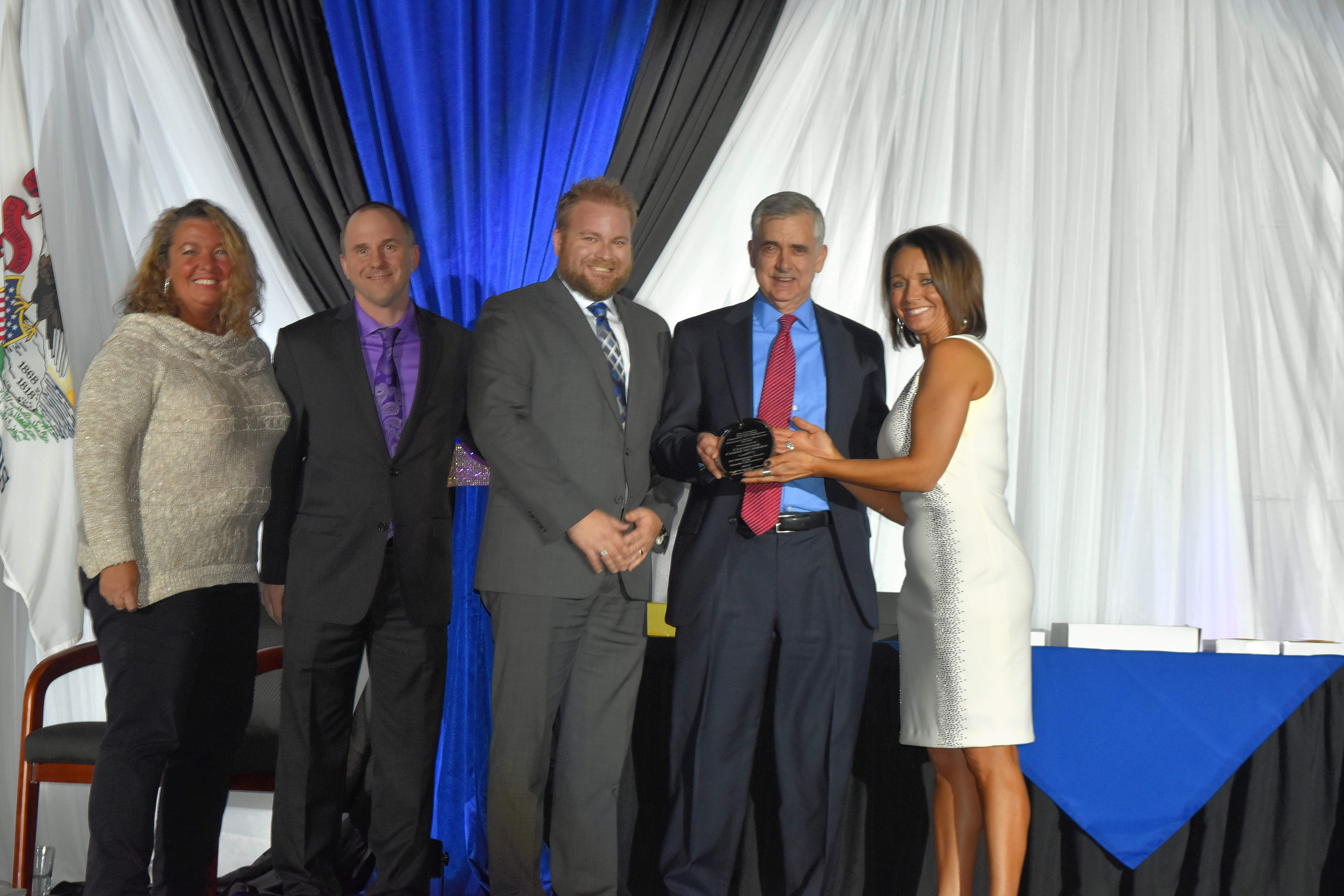 The Distinguished Chamber Business Award this past year went to Clearwave Communications, the region's leading full-service internet service provider.