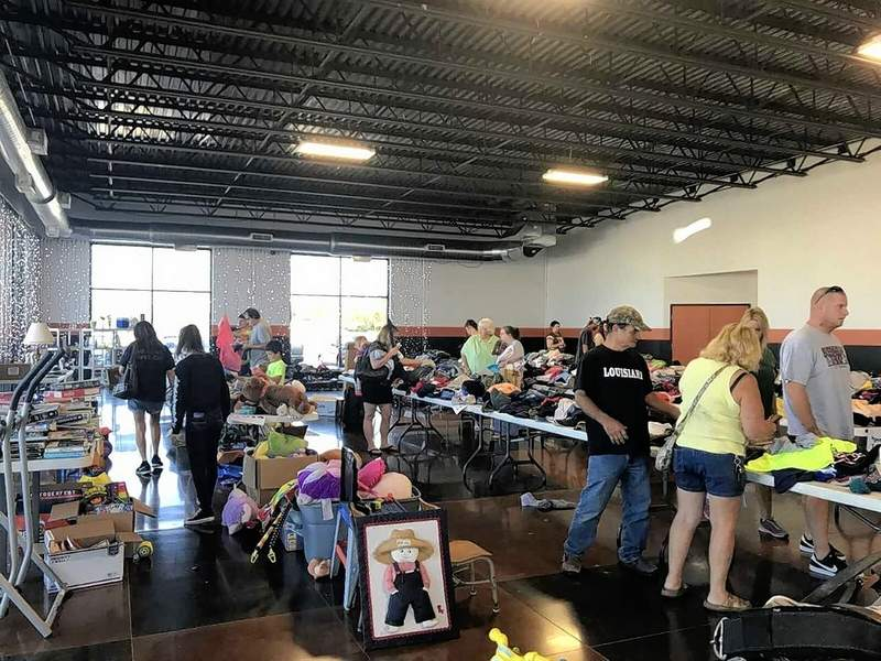 Last year's communitywide yard sale for charity was an immense success. Donated items are now being accepted for next month's sale at both House 2 Home Realty and Black Diamond Harley-Davidson, both in Marion.