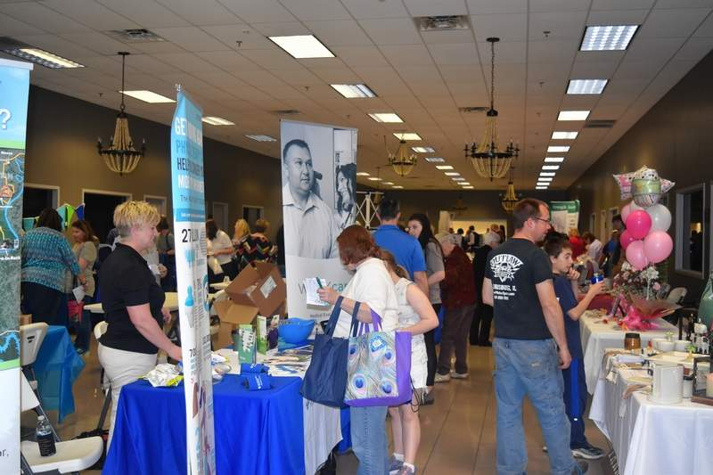 The Saline County Chamber of Commerce Business Expo on April 12 pack the Bonan Business Center in Harrisburg.