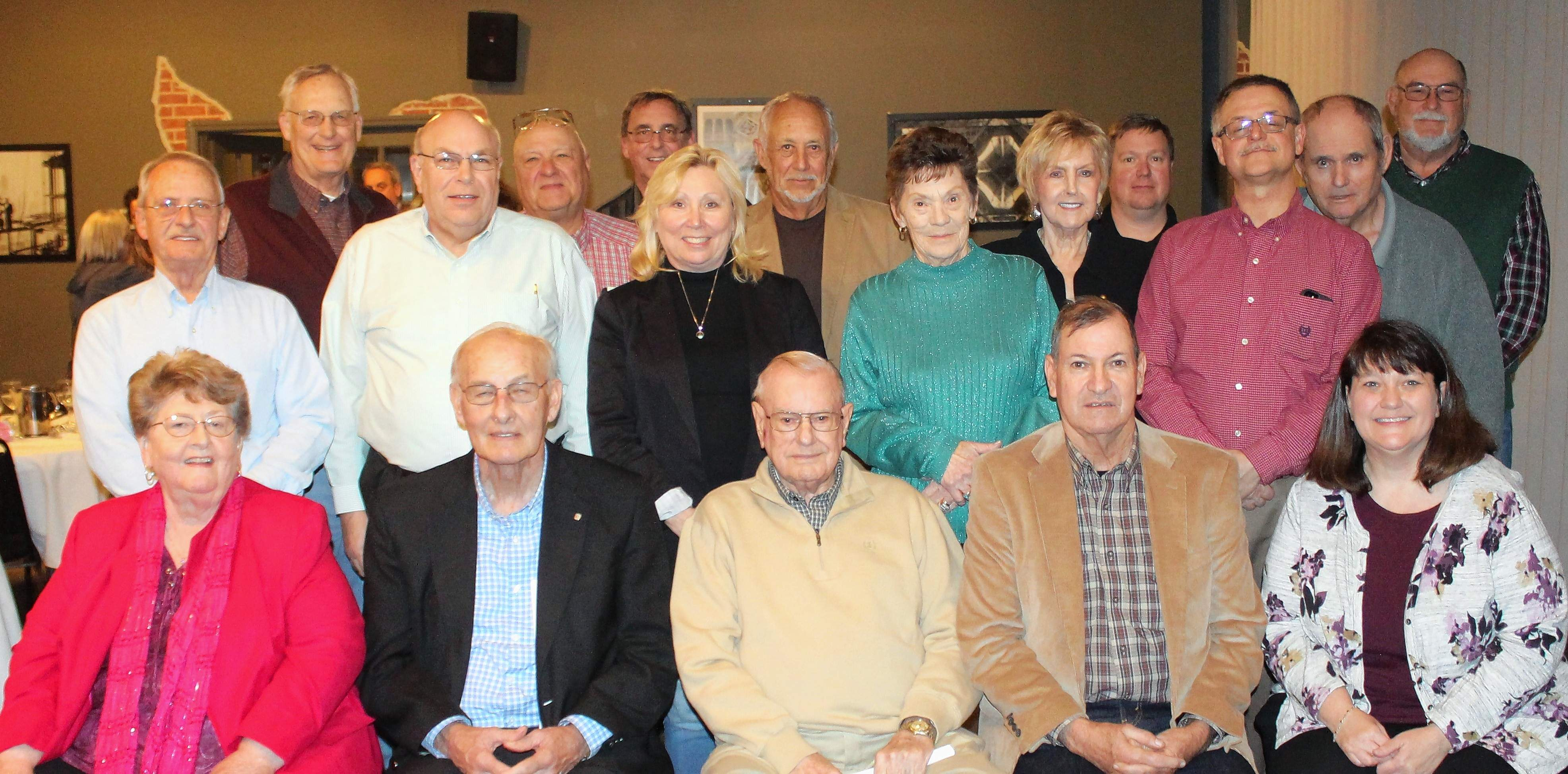 Board members of the Southeastern Illinois Regional Planning and Development Commission celebrate the group's 50th year in service.