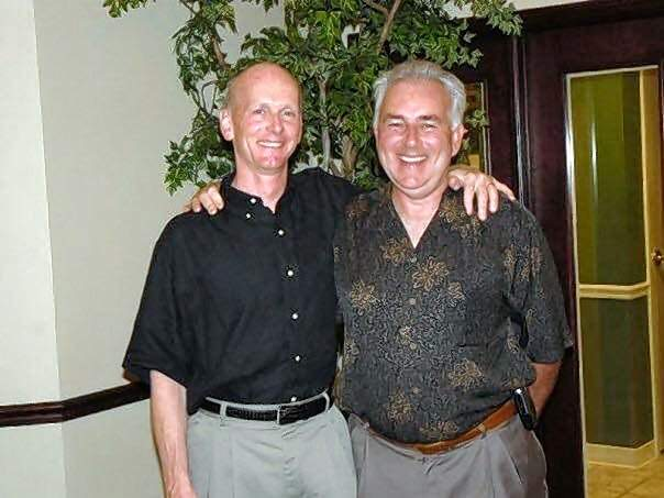 Paul Jones, right, with his brother, retired Harrisburg physician Dr. Larry D. Jones.