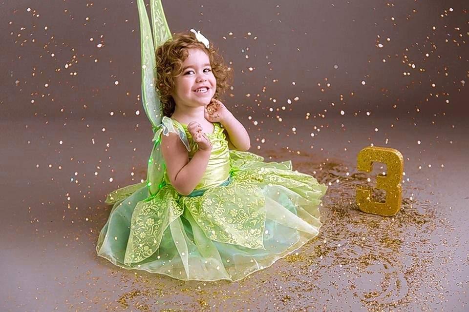 Indy Jones is a big fan of Disney princesses, especially Tinkerbell.