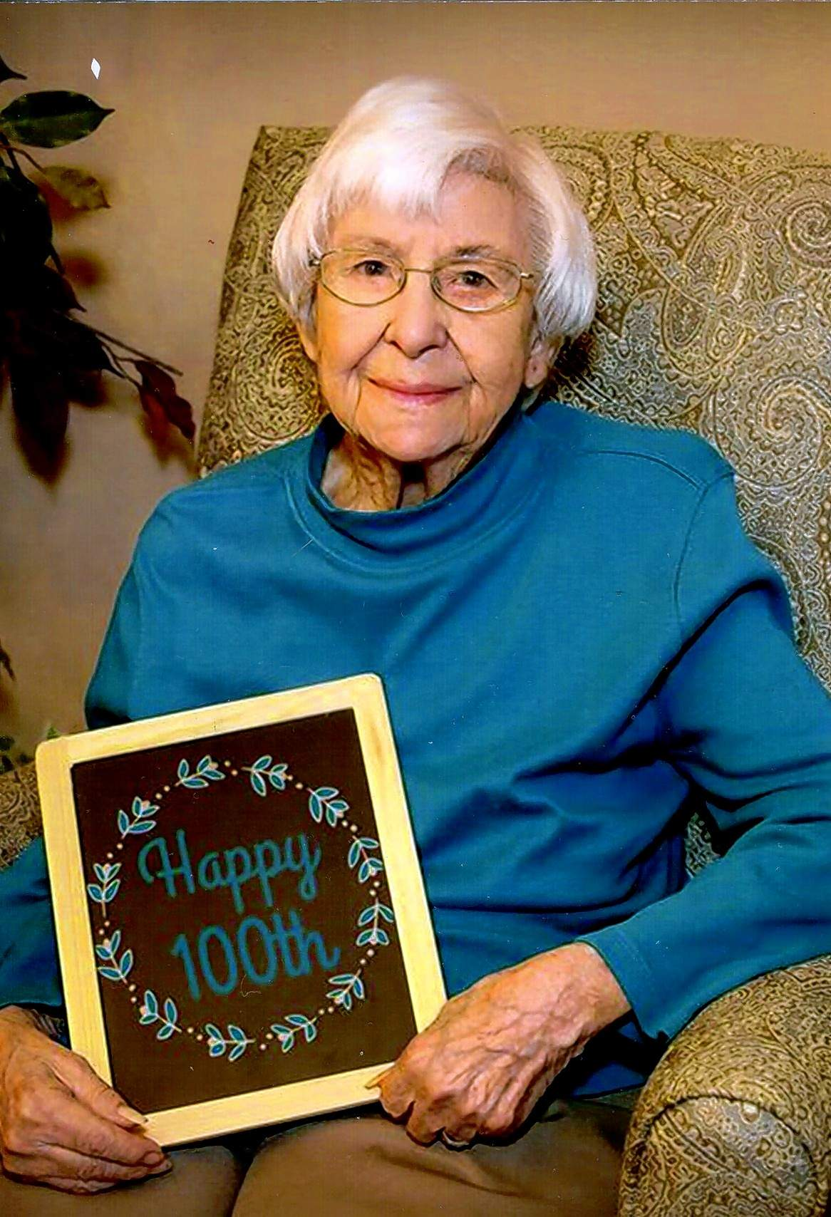 Maxine Walters celebrated her 100th birthday with family over the Memorial Day weekend.