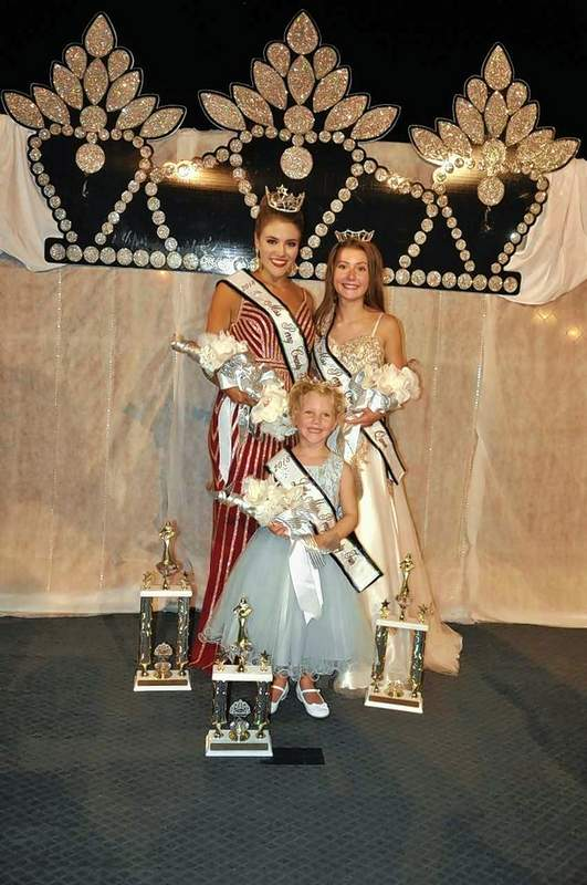Milly Jones, Callie Wildermuth and Haley Johnston were crowned Monday night at the Perry County Fair