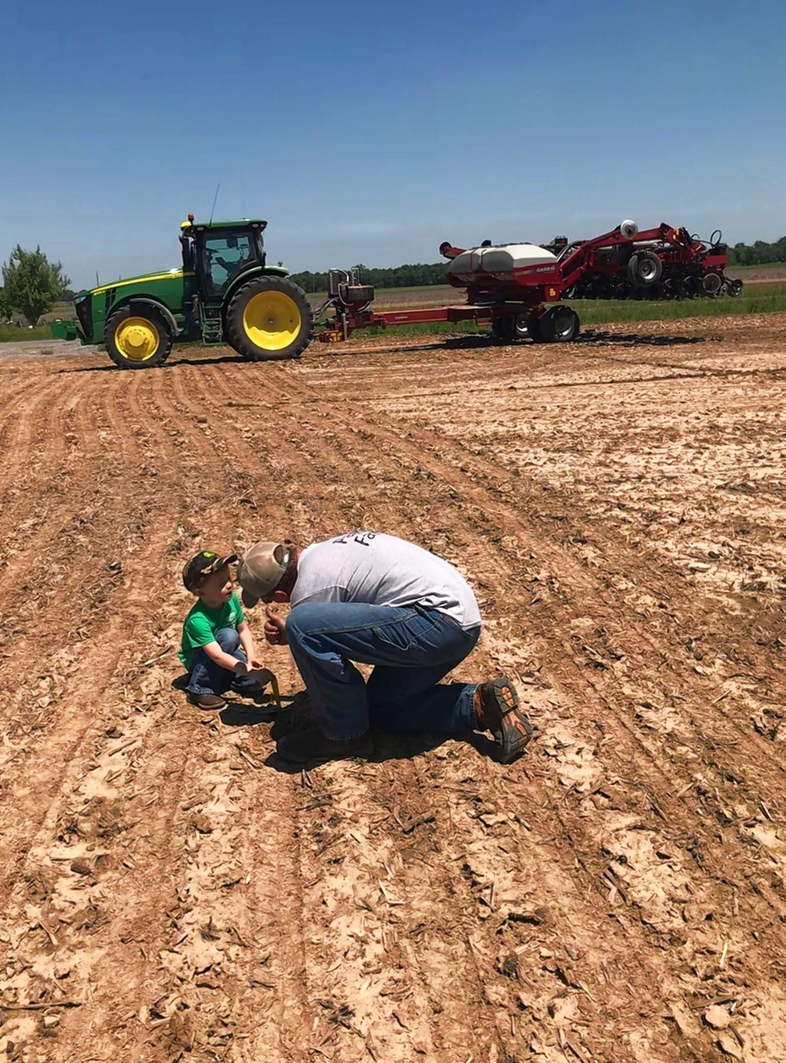 "Kailyn Williams of Raleigh took second place in the 11-14 age bracket of the 2018 Cream of the Crop photo contest, with this entry, called ""Lesson in Ag."""