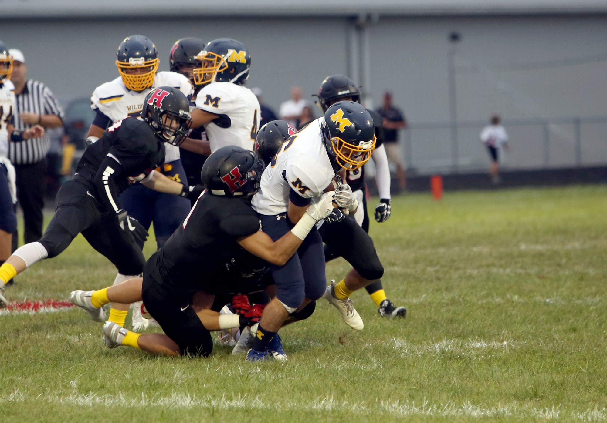 More pictures from Marion's game against Highland.