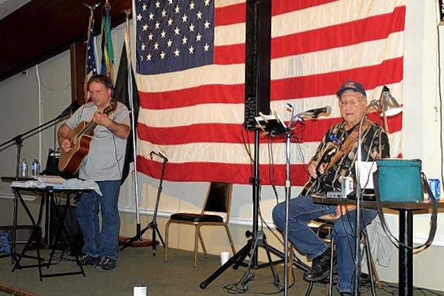 Mitch and Friends play music at the VFW on Sept. 7.