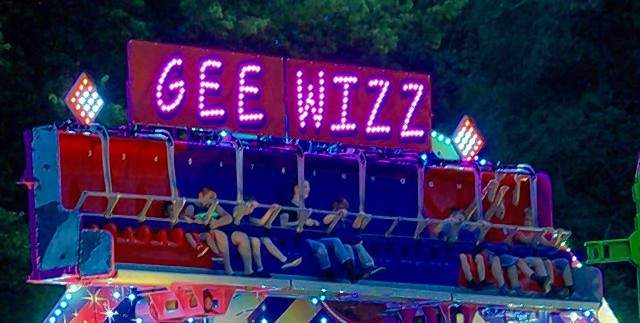 The Gee Whiz was among the popular carnival rides at the 39th Annual Popeye Picnic Sept. 7.