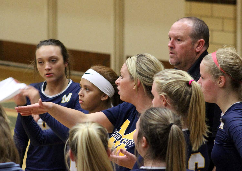 Marion coach Beth Mitacek