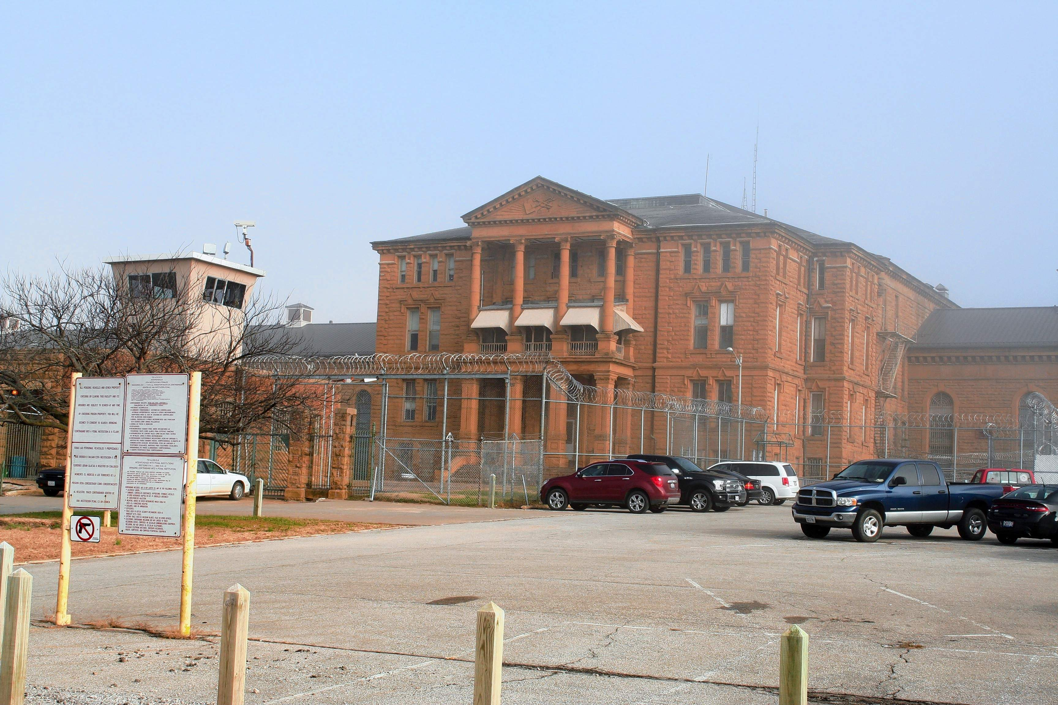 The Menard Correctional Center in Chester.