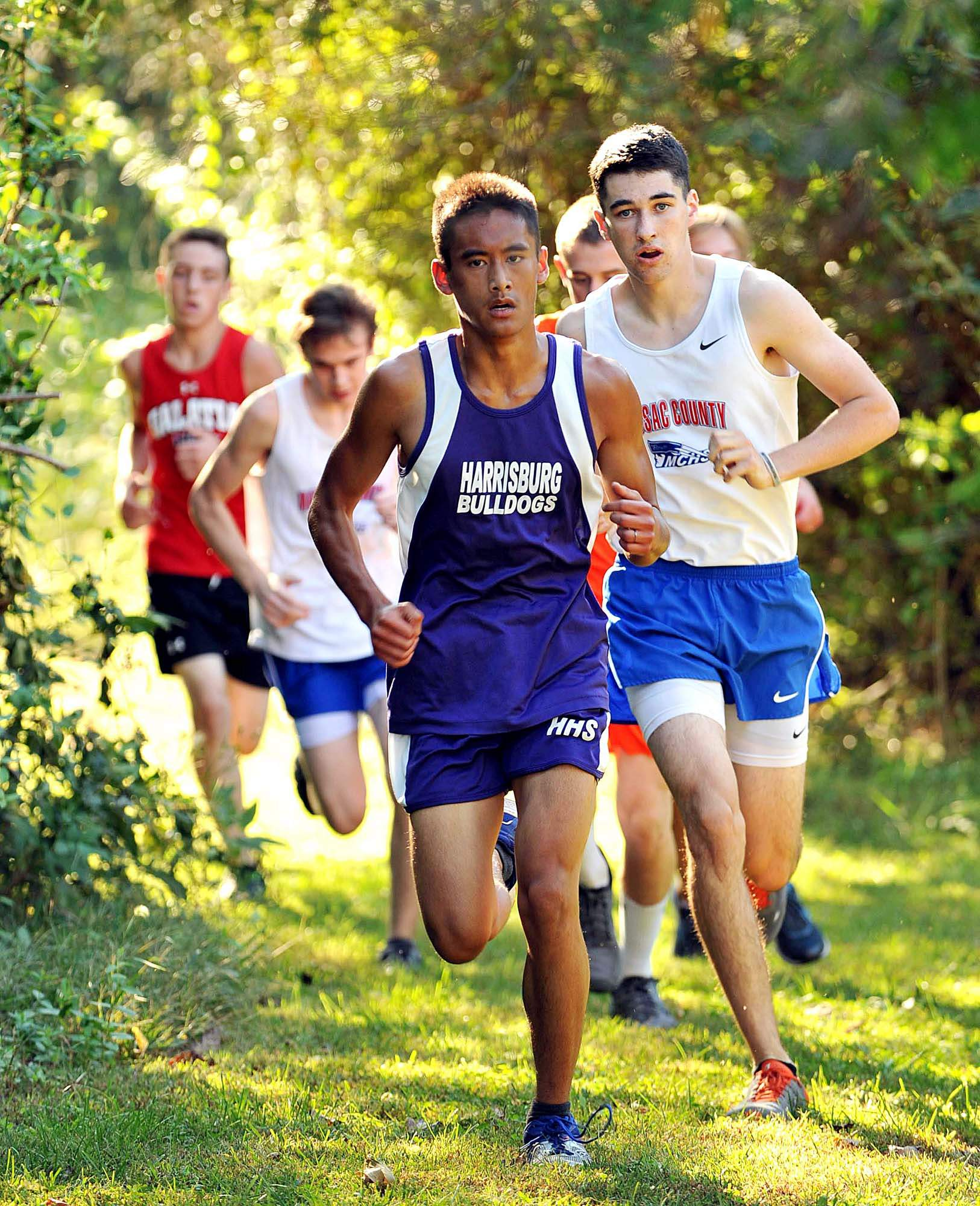 Franko Teston was seventh for Harrisburg at Tuesday's race.