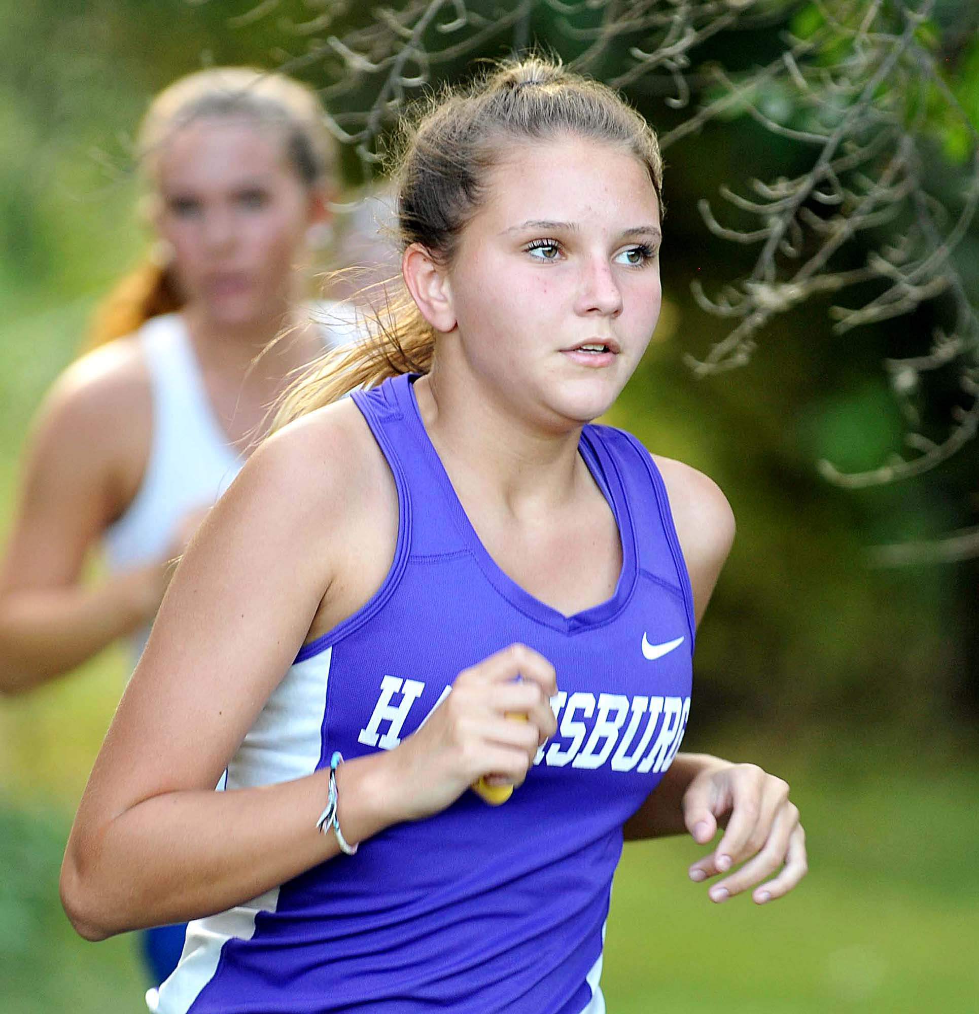 Shaunah Ballard had a time of 31:34 for a 13th place finish for Harrisburg Tuesday at SIC.