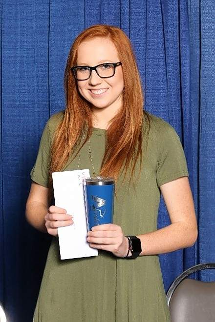 Briley Lenkaitis won championship honors in the Ayrshire breed division of the North American International Livestock Exposition youth dairy quiz bowl contest held Nov. 3 in Louisville.