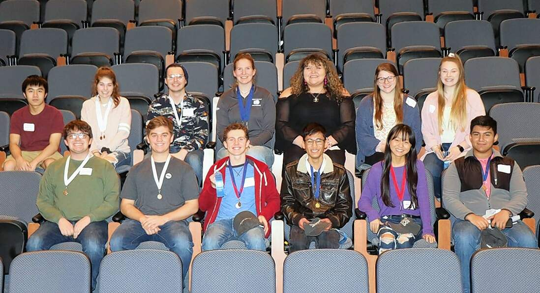 Harrisburg High School team members are (not listed in picture order) Brandon Bui, Angela Colby, Landon Gates, Jack Gulley, Paige Gulley, Savannah Hubbs, Lydia Miller, Callie Oxford, Kole Phelps, Annabella Robinson, Anthony Sanchez, Franko Teston, Olivia Wilson and Sam Winkleman.