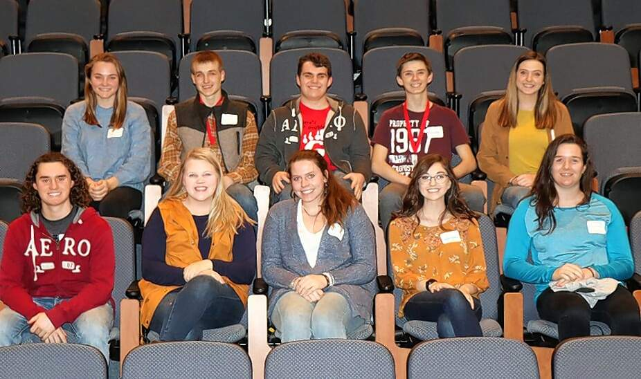 Galatia High School team members are (not listed in picture order) Jaedyn Beers, Kate Bond, Maddie Grubbs, Hannah Jackson, Allen Marvel, Anna Stricklin, Cameron Triplett, Nick Triplett, Dylan Ward and Kelsie Watson.