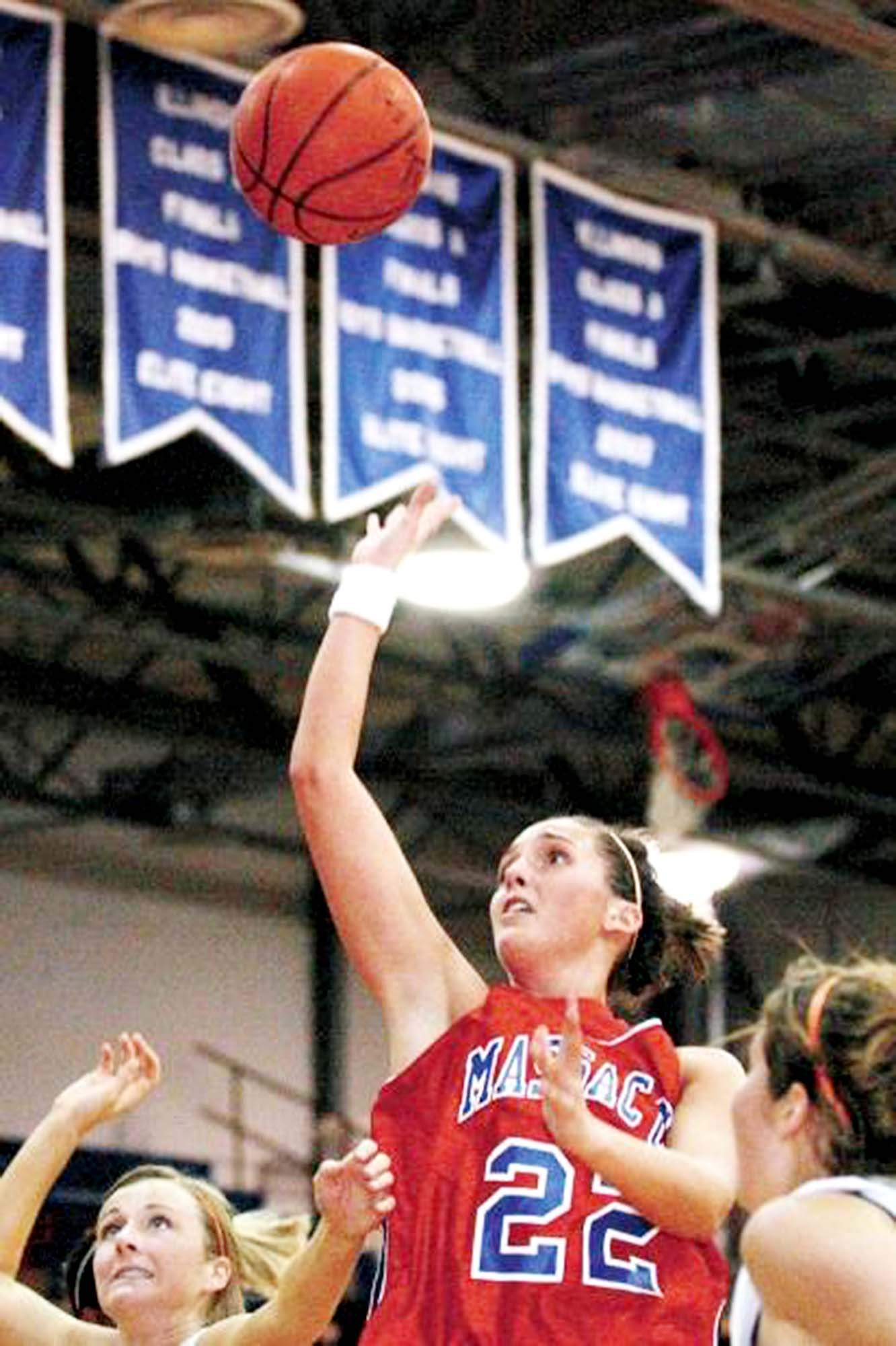 Massac County standout Destiny Mitchell will be inducted into the Illinois Basketball Coaches Association Hall Of Fame on May 4th. The former Patriot remains the school's all-time leading scorer and was named All-Conference and All-South four straight years.