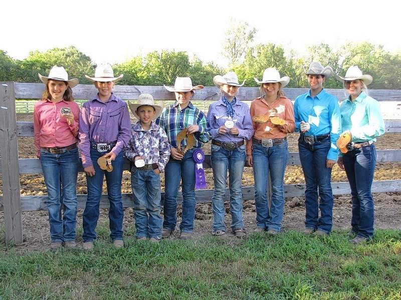 HI Point Champions and Reserve Champions from the 2019 Saline County 4-H Horse & Pony show are pictured from left: HI Point Pony - Hannah Wenzel, Reserve HI Point Pony - Shelby Pribble, HI Point Horse 8-10 - Braxton Davis, Reserve HI Point Horse 8-10 - Adriana Vinyard, HI Point Horse 11-13 - Peyton Folz, Reserve HI Point Horse 11-13 - Kailyn Williams, HI Point Horse 14-19 - Sierra Wilson, and Reserve HI Point Horse 14-19 - Mollie Peterson.