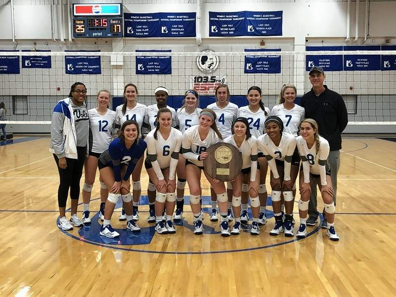 The John A. Logan College Lady Vols beat Rend Lake College in four games to capture the Region 24 championship on Saturday.