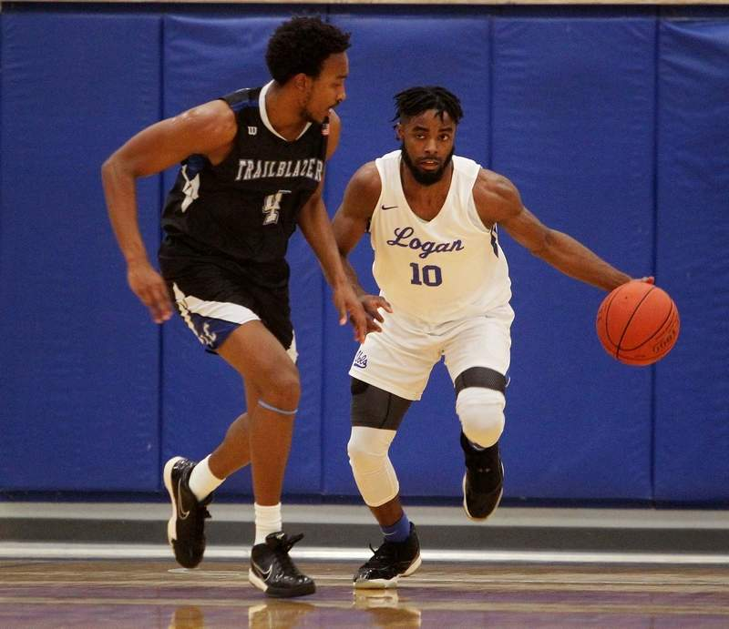John A. Logan College sophomore Jaylen Johnson had a game-high 27 points, including seven 3-pointers in the Volunteers 94-80 win Tuesday night over Lewis & Clark.