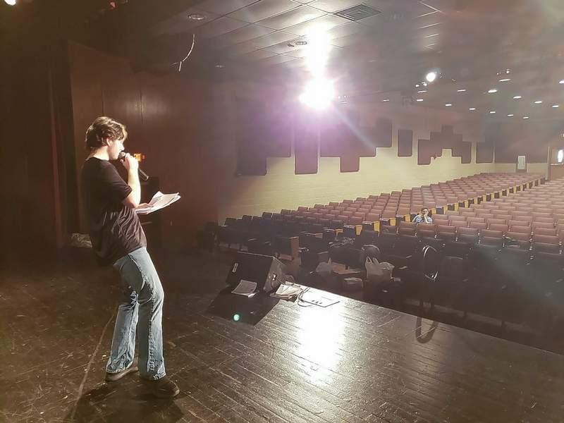 Derick Davis as the Announcer