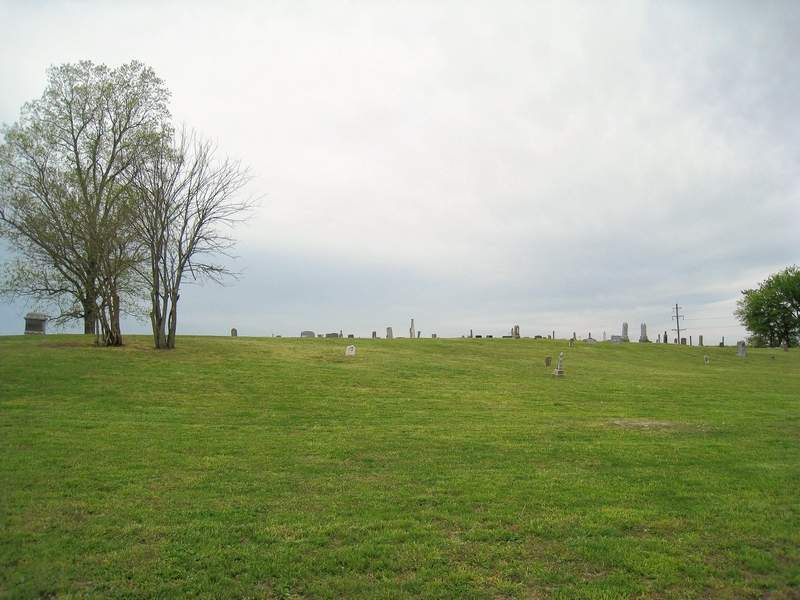 A view of Kanady Cemetery.