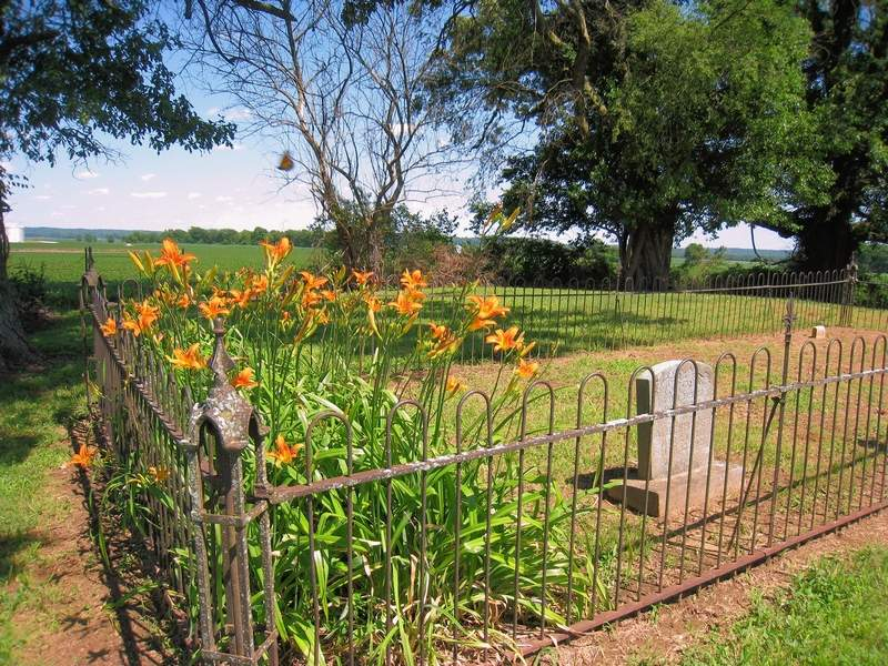 A look at Bradley Cemetery on Portal Road.