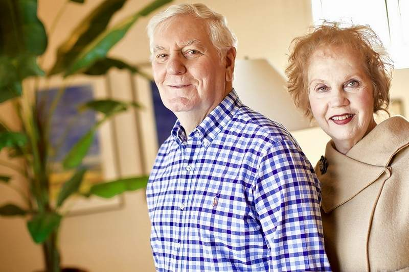 Glenn and Jo Poshard have been recognized for their efforts to help abused and neglected children.
