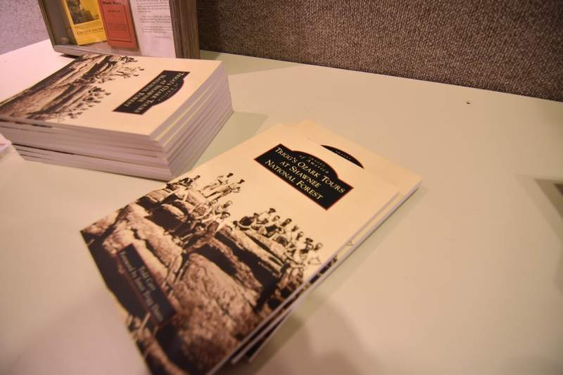 Todd Carr's book, 'Trigg's Ozark Tours at Shawnee National Forest.'