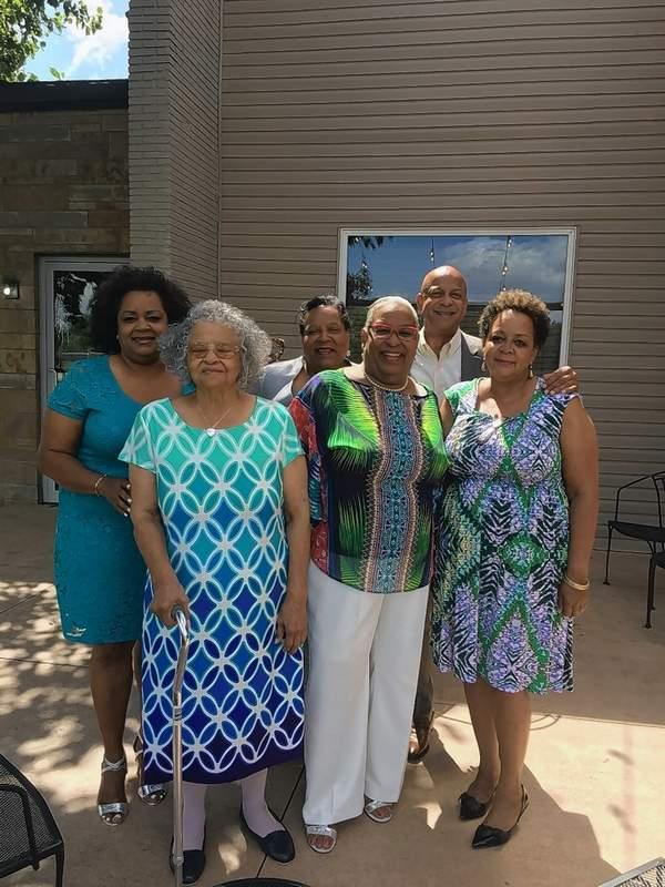 Opal Mann, at left, will celebrate her 90th birthday on Thursday, June 30.