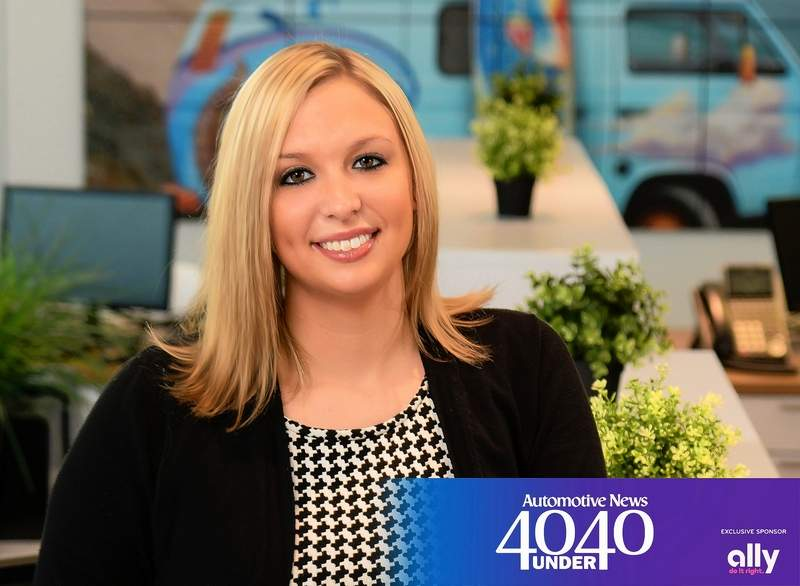 """Ashlee Church has been named to Automotive News' """"40 under 40."""""""